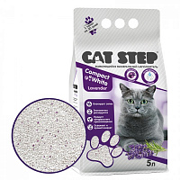 CAT STEP Compact White Lavеnder