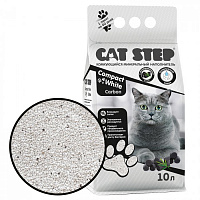 CAT STEP Compact White Carbon